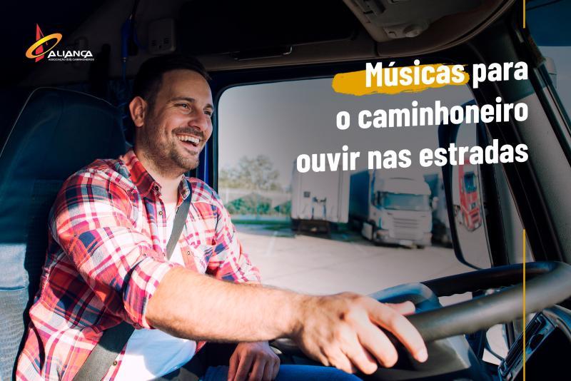 Uma playlist para o caminhoneiro ouvir na estrada
