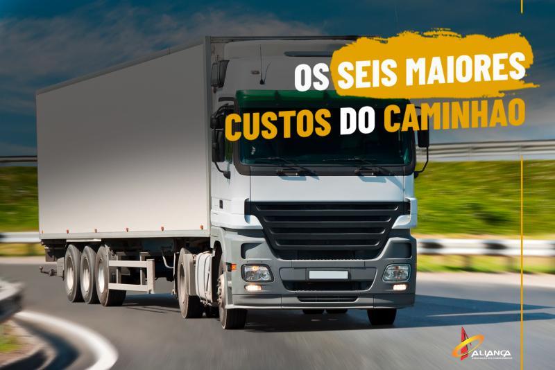 Os seis maiores custos do caminhão
