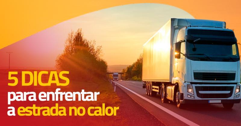 5 Dicas para enfrentar a estrada no calor